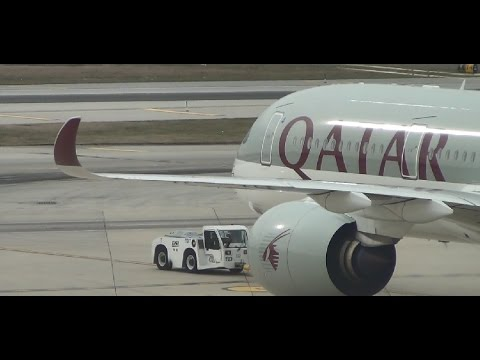 ✈ FIRST TO FLY A350 | Qatar Airways | A350-900 | Business Class Experience | Philadelphia to Doha