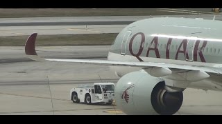 first to fly a350   qatar airways   a350 900   business class experience   philadelphia to doha