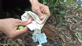 Vô tình lượm được cái bóp khi đi câu cá/catch fish