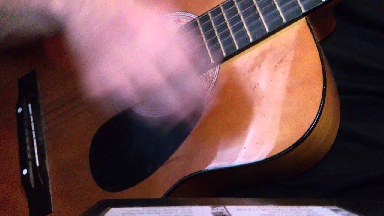 Парень так красиво зачитал рэп на гитаре...