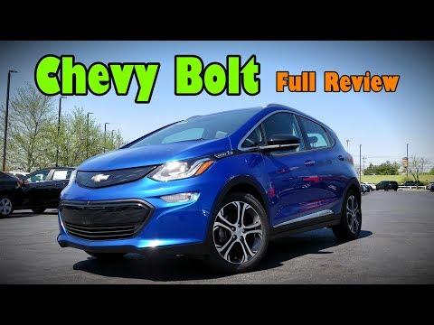 2018 Chevrolet Bolt EV: FULL REVIEW | Premier & LT