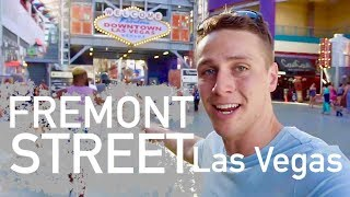 YOUR GUIDE TO FREMONT STREET with Will Edmond in Las Vegas