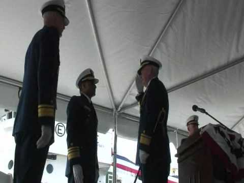 Coast Guard District 17 Change of Command
