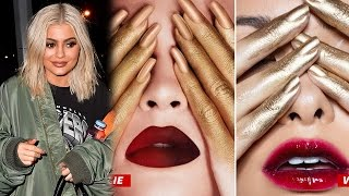 Kylie Jenner Threatened With Lawsuit For STEALING Ideas For Cosmetics Promo Photos