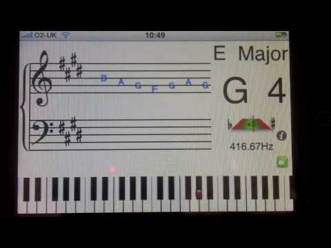 Magic Stave Demo (now has auto key signature detection not shown)