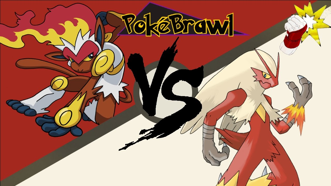 infernape vs blaziken pokebrawl pokemon sun moon oras youtube