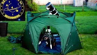 A Product Review on the Portable Observatory Tent Mark II
