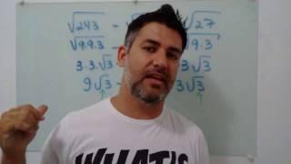 soma e subtrao de radiciao square root sum