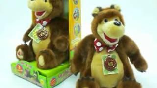 М'яка іграшка Ведмідь 3 казки з м/ф