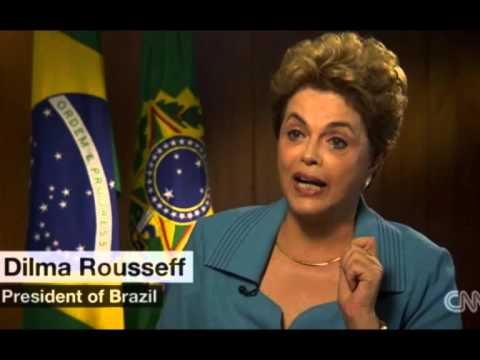 CNN Dilma Rousseff's interview: 'iminent impeachment, iminent coup' - political crisis in Brazil