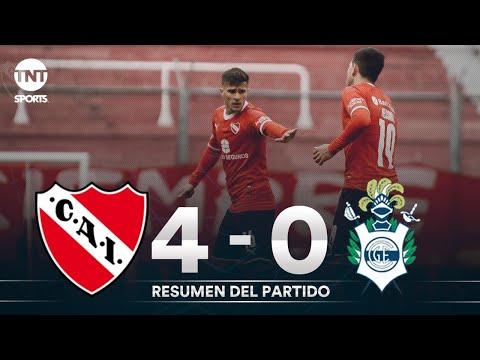Resumen de Independiente vs Gimnasia LP (4-0) | Amistoso de pretemporada