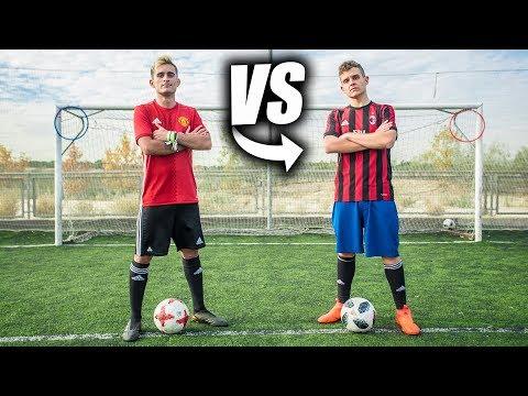ARKANO VS DELANTERO09 - Retos de Fútbol Épicos
