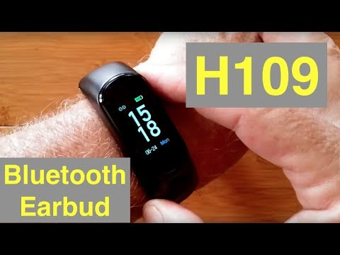 bilikay-h109-combo-smart-bracelet-/-earphone,-blood-pressure,-fitness-tracker:-unboxing-and-1st-look