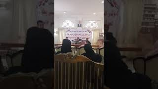 المؤتمر الصحفي لوزير الاعلام اليمني عبدالسلام جابر والاعتداء عليه