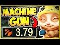 MAX ATTACK SPEED TEEMO CHALLENGE IS 100% DUMB! MACHINE GUN TEEMO TOP GAMEPLAY! - League of Legends