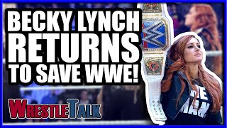 BECKY LYNCH WWE RETURN MATCH ANNOUNCED! | WWE Smackdown Live Nov. 27, 2018 Review!