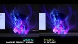 Comparison 5400RPM HDD VS 7200RPM HDD
