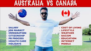🇦🇺 AUSTRALIA vs CANADA 🇨🇦 TAMIL VLOG || WHICH COUNTRY IS BEST ?? WHERE TO SETTLE ??