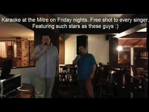 Karaoke at the Mitre Stockton