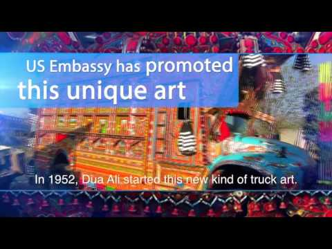 Truck Art Pakistan, Across the Globe