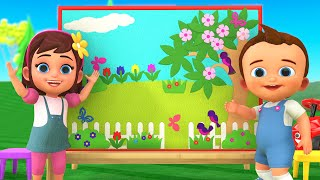 #DIY Color Paper Craft Frame Background Making Art for Kids   Animated 3D Cartoon Kids Educational