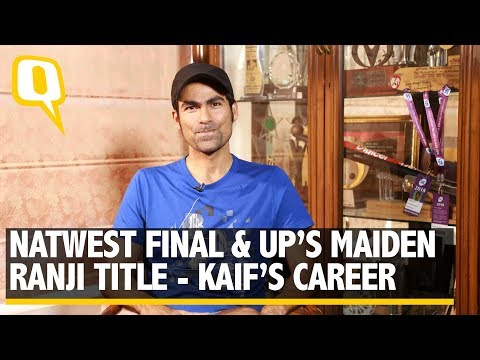 Mohammad Kaif's Career - Natwest Final and UP's First Ranji Title   The Quint