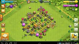 Cristal 2 TH 5/Crystal League TH 5/CLASH OF CLANS 2017