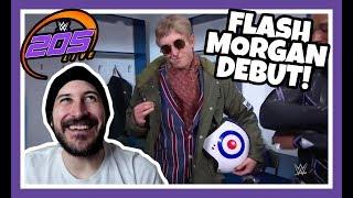 😲 Reaction   FLASH MORGAN WEBSTER DEBUT!   WWE 205 Live London May 15, 2018