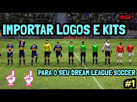 Como importar seus logos e kits no dream league soccer 1 youtube