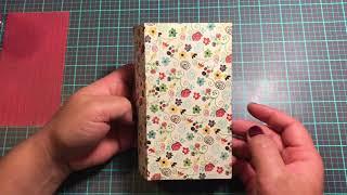 🌻DIY Travelers Notebook Tutorial Using 6x6 Paper Pad🌻