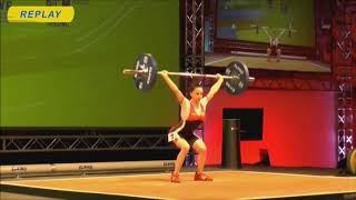 Girls 44kg Group A - 2018 European Youth Weightlifting Championships