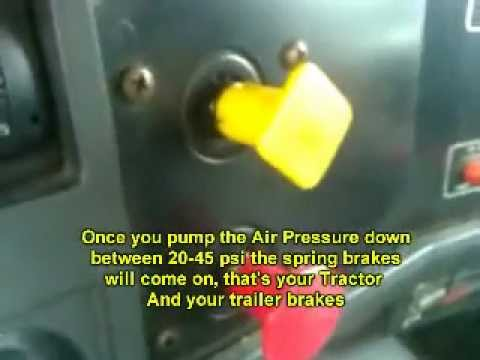 how to pass the air brakes test