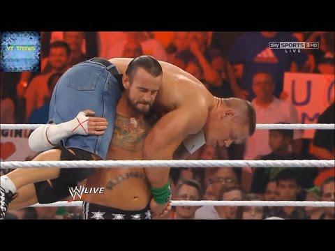 WWE   The Rock saves John cena in St  Louis