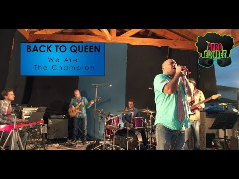 We are The Champion - Queen Cover - Live by Afro Blondes