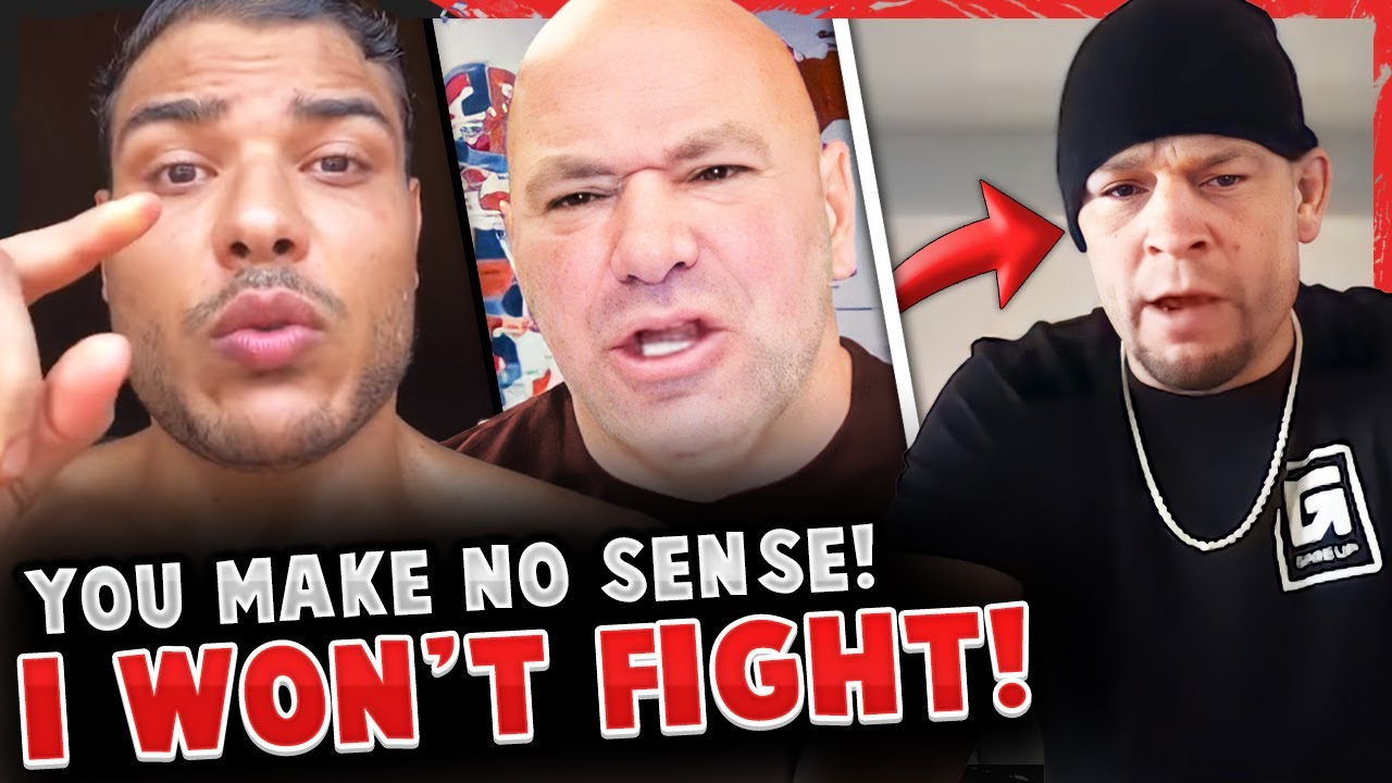 Paulo Costa FIRES BACK at Dana White again! Nate Diaz GOES OFF on Francis Ngannou! UFC 263