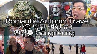 Viagem de outono romântico com 45 Youtubers #3 @Gangneung [Viagens da Coréia 2017]