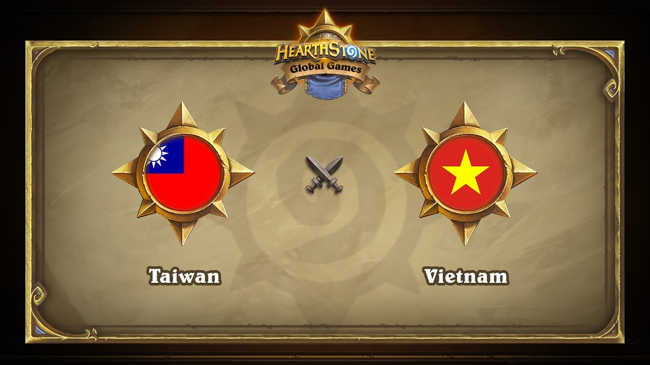 Тайвань vs Вьетнам | Taiwan vs Vietnam | Hearthstone Global Games (19.05.2017)