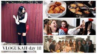 FAMILY HANUKKAH PARTY 2017 || Vlogukah || Eliana Jalali