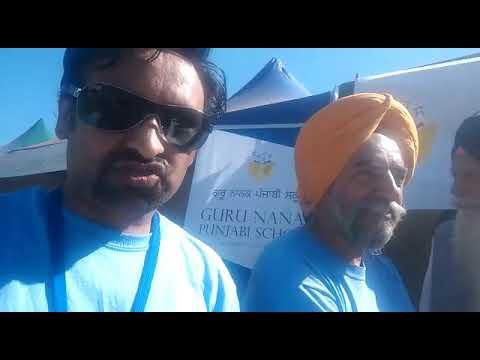 31st Australian Sikh Games : Interview about Guru Nanak Punjabi School Glenwood NSW Australia.