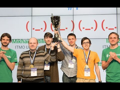 Hash Code 2018: Final Round Awards Ceremony