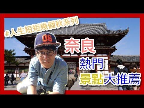 奈良必去四大景點!!!  奈良のおすすめ観光スポット!!(Nara) 【阪哥|032】