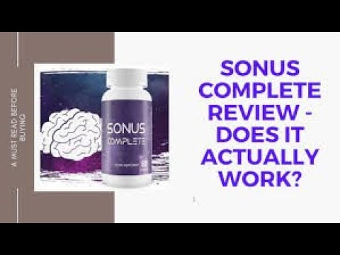 sonus-complete-review-||-sonus-complete-tinnitus-supplement-review