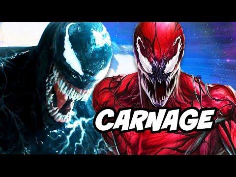 Venom Trilogy Confirmed and Carnage Scenes Revealed