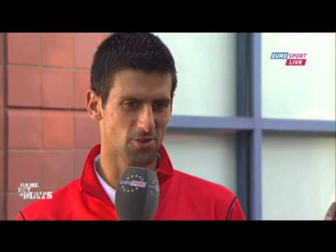 Djokovic backs Federer to continue - interview after US Open R4 win