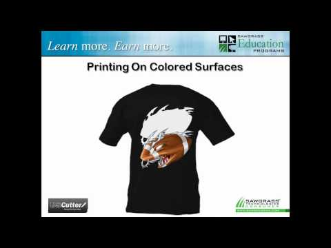 USCutter and Sawgrass Present: Digital Garment Printing With ChromaBlast