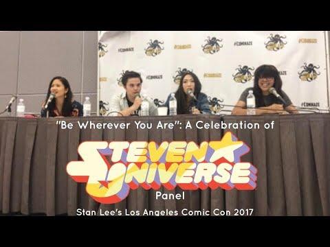 Steven Universe Panel at Stan Lee's Los Angeles Comic Con 2017!