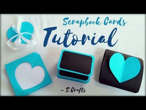 Scrapbook card Tutorial ✂️ | S Crafts | Handmade scrapbook making | scrapbook Gift ideas | easy