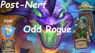 Hearthstone: Odd Rogue Post-Nerf #7: Witchwood (Bosque das Bruxas) - Standard Constructed