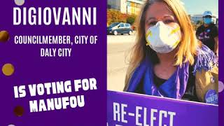 Daly City Councilmember Pamela DiGiovanni Votes Manūfou for JESD School Board