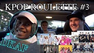K-pop Roulette Challenge #3 // FT. DKAF